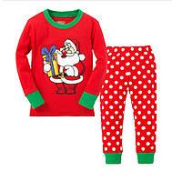 Пижама детская с Дедом Морозом