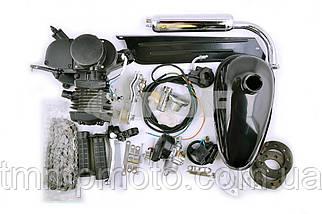 Веломотор/ дирчик в зборі з ручним стартером 80 сс 47мм повний комплект, фото 3