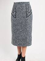Зимняя прямая женская юбка оптом и в розницу