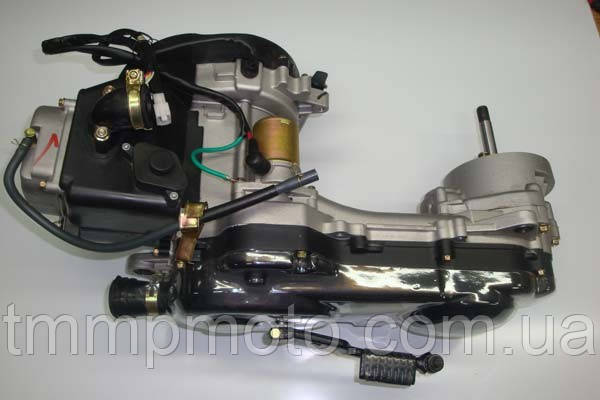 Двигатель 139qmb 4 такт YABEN-80 см3 под 12 колесо один амортизатор, фото 2