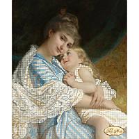 Схема для вышивания бисером Tela Artis Мама с дочкой ТА-273