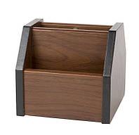 Подставка канцелярская 8008 деревянная
