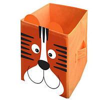 """Детский ящик для хранения игрушек """"Тигр"""" Украинская Оселя, 30*30*45"""