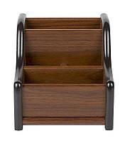 Подставка канцелярская 8031 деревянная