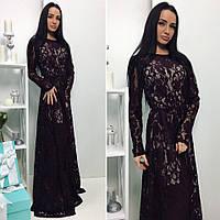 """Женское стильное платье-двойка """"Марго"""" (2 цвета)"""