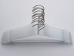 Плечики вешалки тремпеля  Marc-Th WBX9P цвет  прозрачный, длина 38,5 см, фото 3