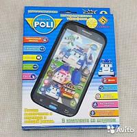 Интерактивный телефон робокар поли robocar poli
