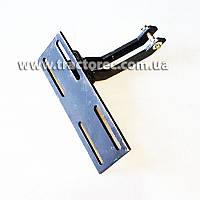 Кронштейн для закрепления переднего гидроцилиндра к раме мототрактора любой модификации