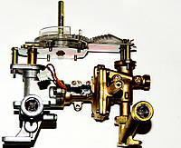 """Газоводяной блок газовой колонки Selena Е1 под """"гайку"""", артикул 33.4165, код сайта 0276"""