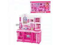 Мебель для куклы кухня с аксессуарами