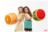 Мягкий надувной пуфик «FRUIT POUF»  - Арбуз или Апельсин