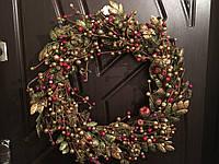Венок рождественский элитный 45 см
