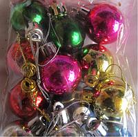 """Новогодняя игрушка """"Шарик"""" на елку"""