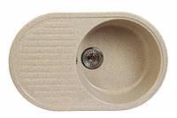 Мойка кухонная Fosto 74x46 см. SGA-300 (цвет - песок)