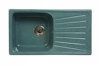 Мойка кухонная Fosto 81x46 см. SGA-210 (цвет - олово)