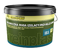 Битумная мастика Greinplast-IBS для гидроизоляции фундаментов из бетона и кирпича и подземных частей зданий