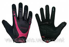 Перчатки R2 CUBE, черно-розовые, размер S (ATR29D/S)