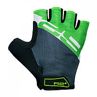 Перчатки R2 ENDURO, черно-зеленые, размер XL