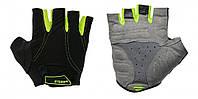 Перчатки R2 VANDE, черно-салатовые, размер XXL (ATR15E/XXL)