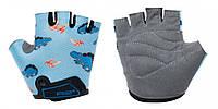 Перчатки детские R2 VOSKA, голубые, возраст 3 - 4 р.