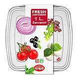 """Пищевые контейнеры для хранения продуктов """"3 в 1"""" Snips 1 л (3 шт.), фото 4"""