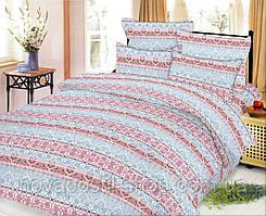 Ткань для постельного белья, ранфорс Полосатый орнамент