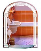 Зеркало в виде арке + LED подсветка 800х600, фото 1