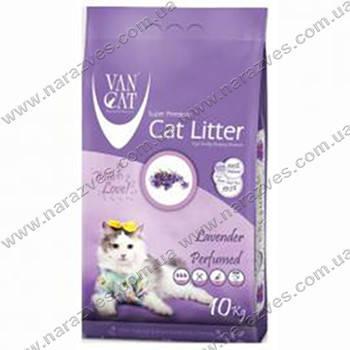 VanCat (ВанКэт) Lavender наполнитель для туалета бентонитовый, 5 кг.