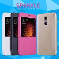 Кожаный чехол Nillkin Sparkle для Xiaomi Redmi Pro (4 цвета)