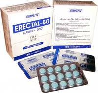 Акция! Эректал-50 таблетки для мужчин, лечение простаты, пробник 142грн 3 таблетки