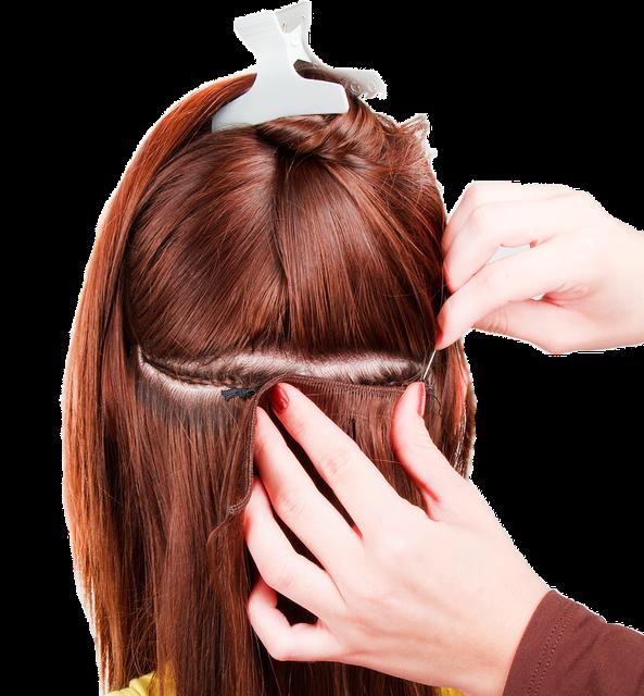 Трессовое наращивание волос