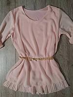 Блуза шифоновая для девочки р.4-14 Moda Italy