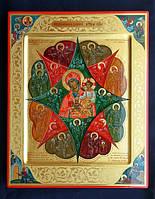Писаная Икона «Неопалимая Купина»