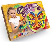 Набор для творчества шкатулка Блестящая мозаика Danko Toys