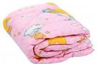 Одеяло стеганое детское 100 х 140 см 100 % хлопок