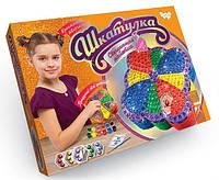 Набор для творчества шкатулка Сверкающая пайетка Danko Toys