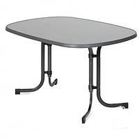 Стол для кафе раскладной DINE pizzara / antracyt  132х90х72см