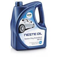 Масло моторное синтетическое Neste City Standart 5W-30 4л.