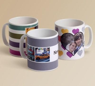 Печать фото на чашках керамических белых