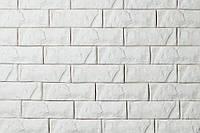"""Декоративная гипсовая плитка, гипсовый камень """"Марсель"""" Белая"""