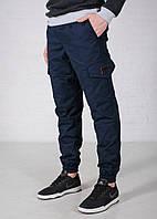 Зимние штаны Cargo Navy синие