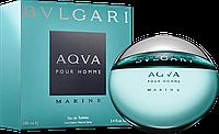 Мужская туалетная вода Bvlgari Aqua Pour Homme Marine (Булгари Аква Пур Хом Марине) 100 мл
