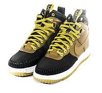 Кроссовки мужские Nike Lunar Force 1 Duckboot Brown, фото 1
