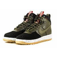 Кроссовки мужские Nike Lunar Force 1 Duckboot Khaki, фото 1