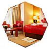 Восьмиугольное зеркало (50х50 см) + фацет