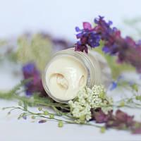 «Полевые соцветия»-крем-мусс для безопасного загара кожи лица и зоны вокруг глаз с минеральными  SPF-25.30 мл