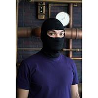 Балаклава (маска, подшлемник) черная зимняя