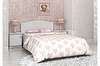 """Кровать детская/подростковая  """"Мишка"""" цвет белый  (2 размера)"""