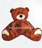 Большой плюшевый мягкий медведь 2,5м Бурый