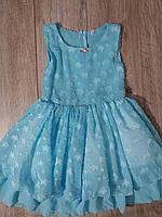 Платье шифоновое для девочки р.110-128 Украина